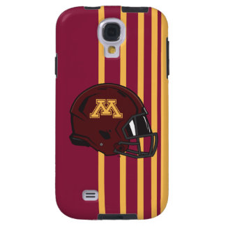 Minnesota M Football Helmet Galaxy S4 Case