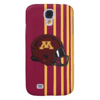 Minnesota M Football Helmet Samsung Galaxy S4 Cover