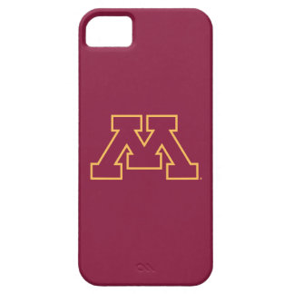 Minnesota M marrón iPhone 5 Case-Mate Coberturas