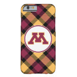 Minnesota M marrón Funda De iPhone 6 Barely There