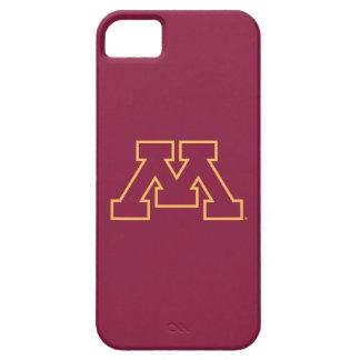 Minnesota M marrón iPhone 5 Carcasas