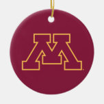 Minnesota M marrón Ornamente De Reyes
