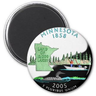 Minnesota Magnat Fridge Magnets