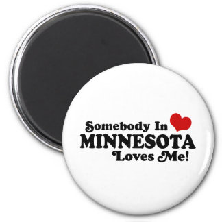 Minnesota Refrigerator Magnet
