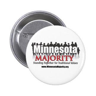 Minnesota Majority 2 Inch Round Button