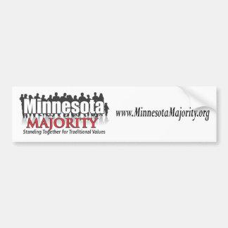 Minnesota Majority Bumper Sticker Car Bumper Sticker