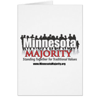 Minnesota Majority Stationery Note Card