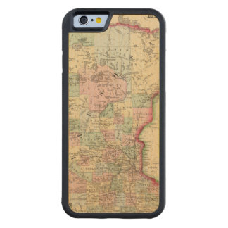 Minnesota Map by Mitchell Carved® Maple iPhone 6 Bumper