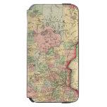 Minnesota Map by Mitchell Incipio Watson™ iPhone 6 Wallet Case