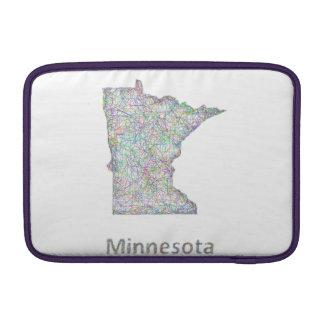 Minnesota map MacBook air sleeve