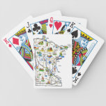 "Minnesota Map Playing Cards<br><div class=""desc"">Uff da! A game of Vri &#229;tter or Spar Dame will be even more fun when you pick up this nifty deck of Minnesota Map playing cards. Take a deck with you to the next Sm&#246;rg&#229;sbord or Hjemkomst Festival. Don&#39;t drop them in the Lutefisk! Ya sure,  you betcha!</div>"