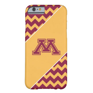 Minnesota Maroon and Gold M Barely There iPhone 6 Case