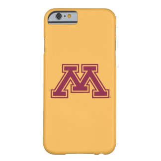 Minnesota Maroon and Gold M iPhone 6 Case