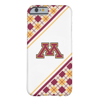 Minnesota Maroon & Gold M Barely There iPhone 6 Case