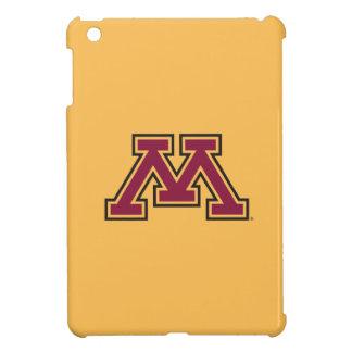 Minnesota Maroon & Gold M iPad Mini Covers