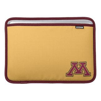 Minnesota Maroon & Gold M Sleeves For MacBook Air