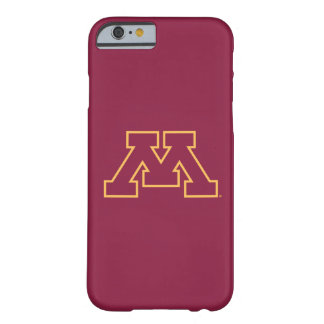 Minnesota Maroon M Barely There iPhone 6 Case