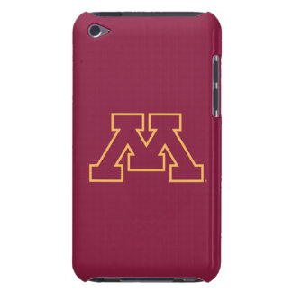 Minnesota Maroon M Barely There iPod Cases
