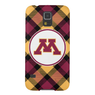 Minnesota Maroon M Galaxy S5 Cover