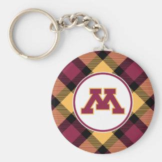 Minnesota Maroon M Keychain