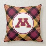 Minnesota Maroon M Pillow