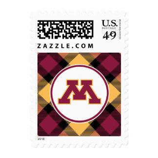 Minnesota Maroon M Stamp