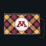 """Minnesota Maroon M Wristlet Purse<br><div class=""""desc"""">Check out these official University of Minnesota designs! Personalize your own Minnesota merchandise on Zazzle.com with your name or class year. Try adding text using various fonts &amp; view a preview of your design!</div>"""