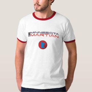 Minnesota Martian mens red ringer T T-Shirt