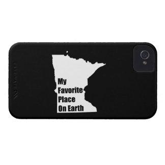 Minnesota mi lugar preferido en la tierra iPhone 4 cárcasas