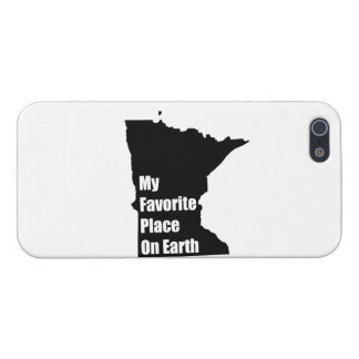 Minnesota mi lugar preferido en la tierra iPhone 5 cárcasas