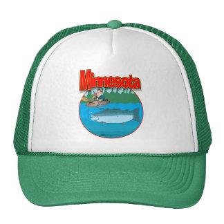 Minnesota minnow cap trucker hat