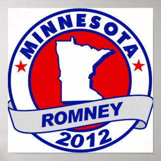 Minnesota Mitt Romney Impresiones
