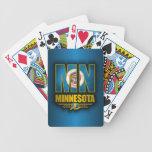 Minnesota (MN) Bicycle Playing Cards