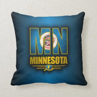 Minnesota (MN) Throw Pillow