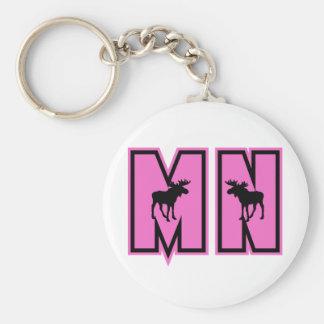Minnesota Moose Key Chain