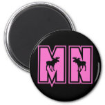 Minnesota Moose Refrigerator Magnet