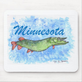 Minnesota Musky Mouse Pad