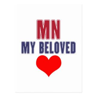 Minnesota my beloved postcard