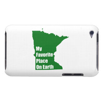 Minnesota My Favorite Place On Earth iPod Case-Mate Case