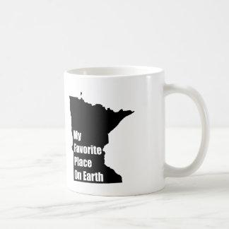 Minnesota My Favorite Place On Earth Coffee Mug