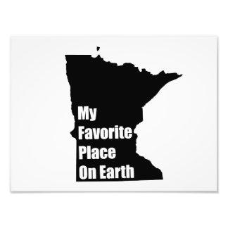 Minnesota My Favorite Place On Earth Art Photo
