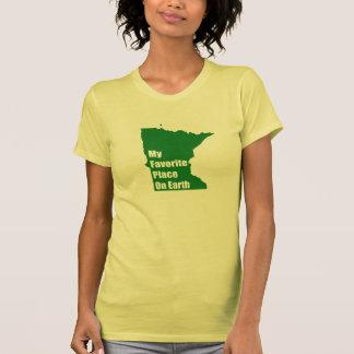 Minnesota My Favorite Place On Earth Tee Shirt