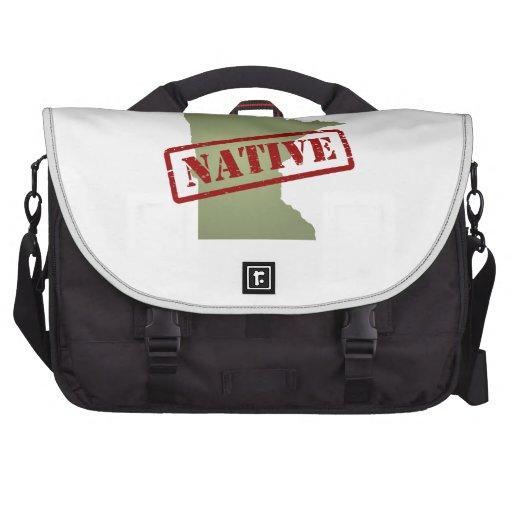 Minnesota Native with Minnesota Map Bag For Laptop
