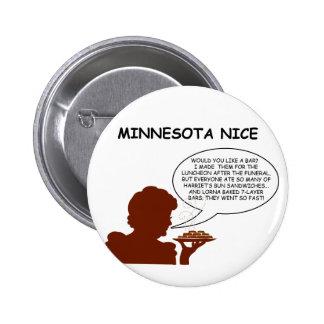 Minnesota Nice 2 Inch Round Button