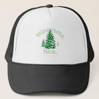 Minnesota Nice.  Period! Trucker Hat