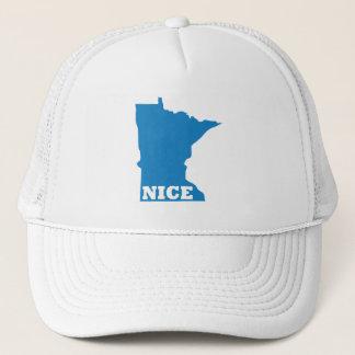 MINNESOTA NICE TRUCKER HAT