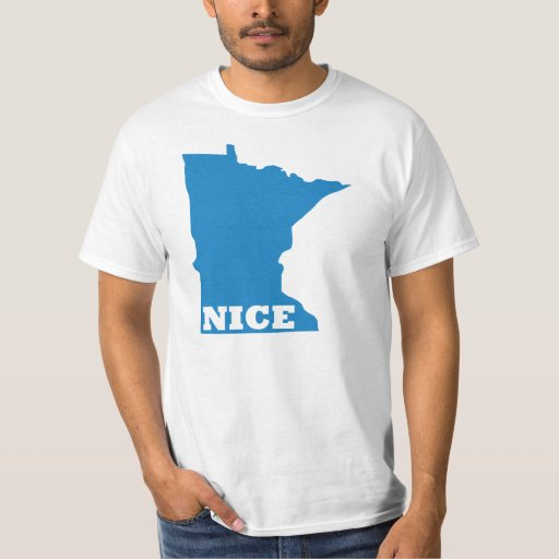 MINNESOTA NICE Tshirts