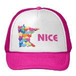 Minnesota Niza con el gorra del corazón