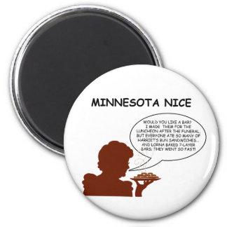 Minnesota Niza Imán Redondo 5 Cm