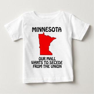 Minnesota - nuestra alameda quiere Secede de la Playera De Bebé